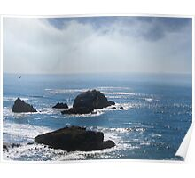 Peaceful Pacific Afternoon Poster