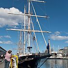 Tall Ships Festival Hobart - Young Endeavour by Odille Esmonde-Morgan