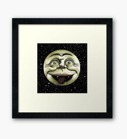 Rad Moon Rising Framed Print