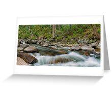 Rocks & Rapids Greeting Card