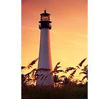 Cape Florida Lighthouse Photographic Print