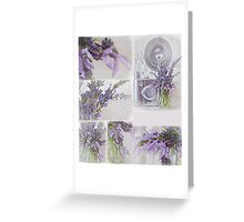 All kinds of Lavender Greeting Card