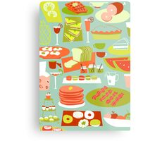 Big Breakfast Metal Print
