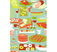 Big Breakfast Photographic Print