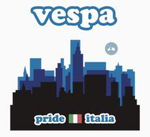 VESPA CITY Kids Tee