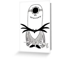 Jack minion Greeting Card