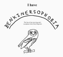 benkinersophobia  by Geordie McC