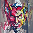 The Devil Made Me Do It iPhone Case by Tim Miklos