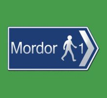 Footpath to Mordor Kids Tee
