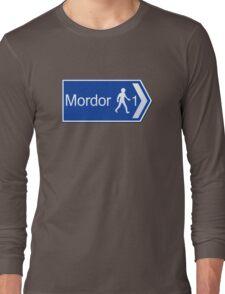 Footpath to Mordor Long Sleeve T-Shirt