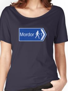 Footpath to Mordor Women's Relaxed Fit T-Shirt