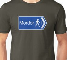 Footpath to Mordor Unisex T-Shirt