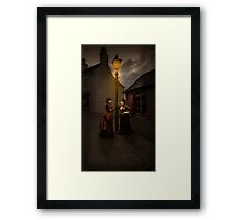 Lamp Light Ladies Framed Print