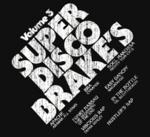 Super Disco Brakes old school hip hop Tee by razorcuts
