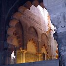 Cordoba Mezquita - Cathedra by Sue Ballyn