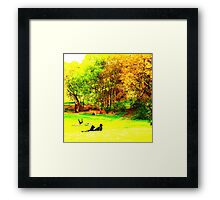 English Country Scene One Framed Print