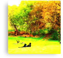 English Country Scene One Canvas Print