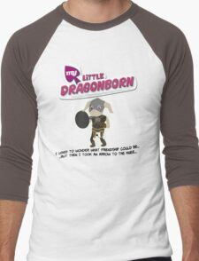 My Little Dragonborn Men's Baseball ¾ T-Shirt