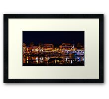 Latchi harbour Framed Print
