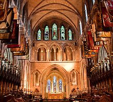 Ireland. Dublin. St Patrick's Cathedral. by vadim19
