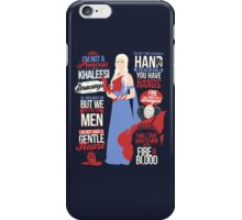 Quotes of a Khaleesi iPhone Case/Skin