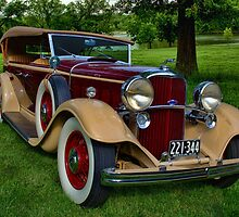 1932 Lincoln KB Touring Car by TeeMack