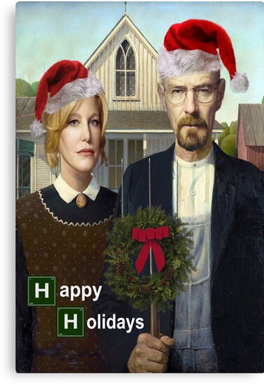 Happy Holidays from The Whites by Paul Gitto