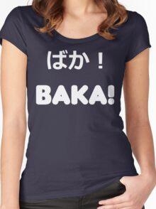 BAKA! Vector Women's Fitted Scoop T-Shirt