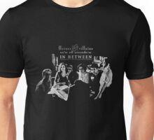 Heroes and Villains (b&w) Unisex T-Shirt