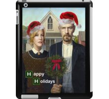 Happy Holidays from The Whites iPad Case/Skin