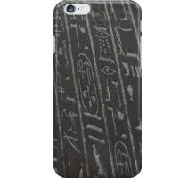 Hieroglyphics iPhone Case/Skin