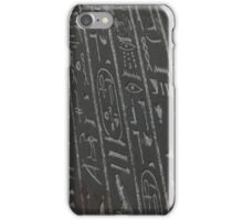 Hieroglyphics iPhone Case/Skin