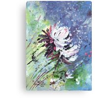 Petals fall Canvas Print