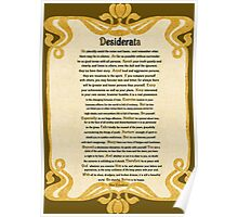 Desiderata (Desired Things) Poster