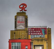 The R is Back - Old Rainier Brewery by Sue Morgan