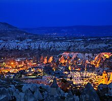 Cappadocian nights by Hercules Milas