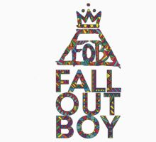 Fall Out Boy Aztec Design by morwennashere