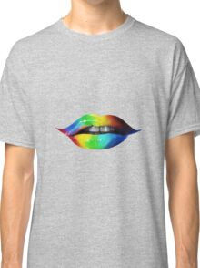 Rainbow lips T-Shirts & Hoodies Classic T-Shirt