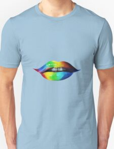 Rainbow lips T-Shirts & Hoodies T-Shirt