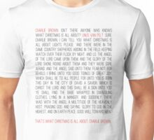 That's What Christmas Is All About Charlie Brown (Dark) Unisex T-Shirt