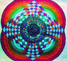 Horizons Unfolding Glow by andjaxstudios