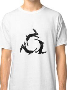 AFI DECEMBERUNDERGROUND COVERART–BLACK, NO OUTLINE Classic T-Shirt