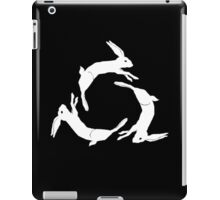 AFI DECEMBERUNDERGROUND COVERART–IPAD (BLACK BACKGOUND) iPad Case/Skin