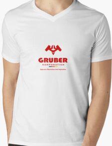 Gruber Korporation Mens V-Neck T-Shirt