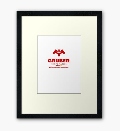Gruber Korporation Framed Print