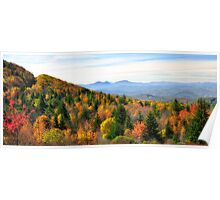 Autumn View of the Grayson Highlands Poster
