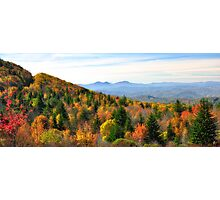 Autumn View of the Grayson Highlands Photographic Print