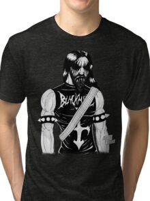 Black Metal Tri-blend T-Shirt