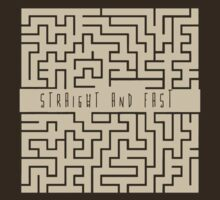 Straight and Fast. T-Shirt