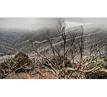 Mount Hotham in Autumn Photographic Print
